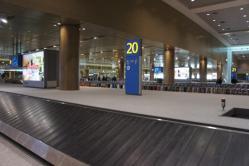インチョン空港到着