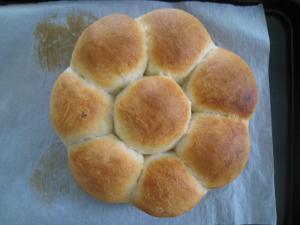アップルシナモン丸パン2