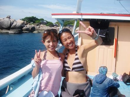 タイ タオ島 ダイビング コース修了