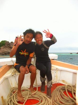 タイ タオ島 天気 体験ダイビング
