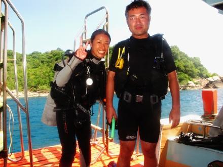 タイ タオ島 ダイビング 講習