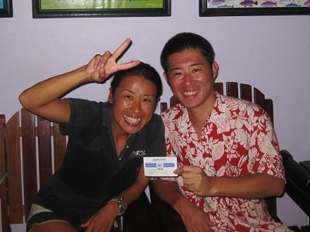 タイ タオ島 ダイビング アドバンス講習