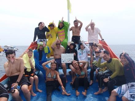 タオ島 ダイビング ジンベエ チュンポンピナクル ボート