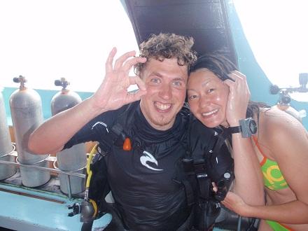 タオ島 ダイビング オープンウォーター 講習