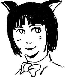 ぽややん伝説-黒猫だけどミケ