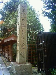 善峰寺と桂昌院