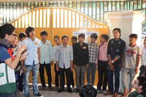 カンボジア人ボランティー学生