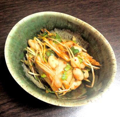 キムチと大豆