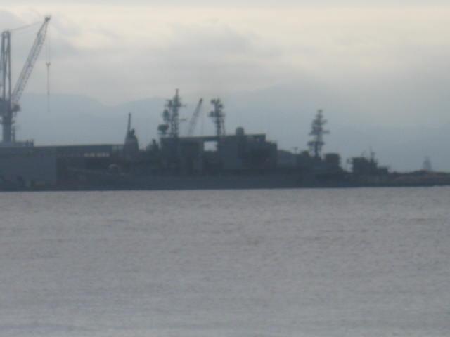 護衛艦のシルエット