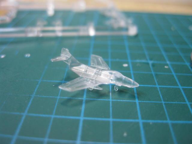 ドラゴン 1/700 F9F-8 の1