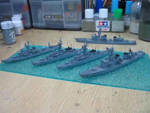 地方隊配備用護衛艦(DE) 歴史