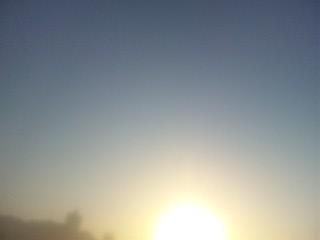 ミーママが見た朝の空