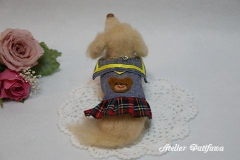 羊毛フェルト犬_ずっこちゃん2
