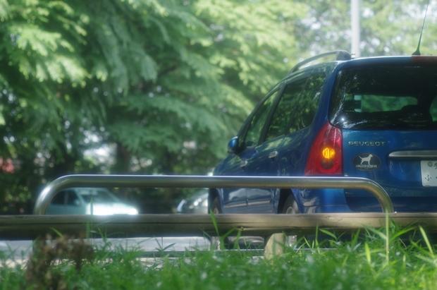 ブルーの愛車