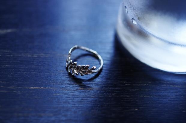 指輪はずしてみましたん♪