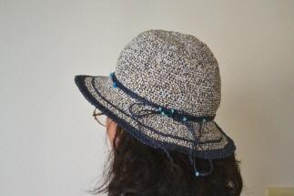 2012 S/S Kさん ニットカフェの帽子