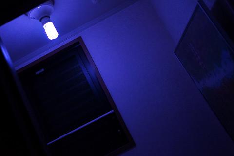 トイレの蛍光灯