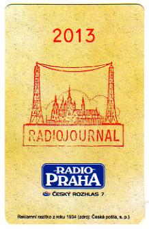 2013年 RADIO PRAHA ČESKÝ ROZHLAS 7