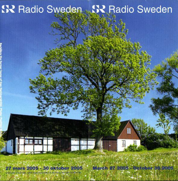 Radio Sweden 2005年3月27日~10月30日 スケジュール表より