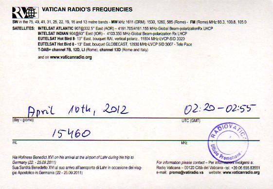 Vatican Radio Radio Vaticana バチカン放送