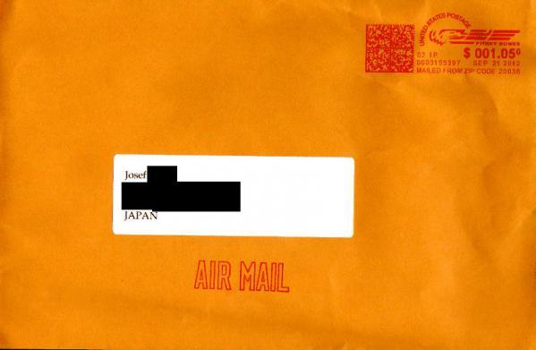 2012年9月19日 ビルマ語放送受信 Radio Free Asia(アメリカ)