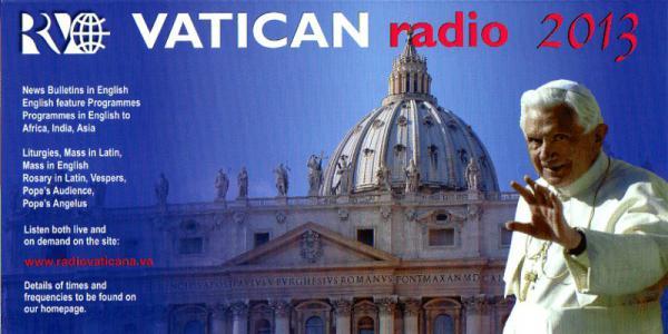2013年 バチカン放送カレンダー