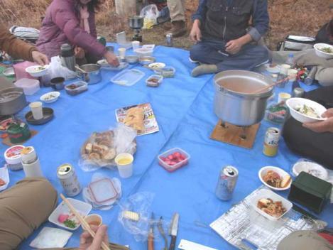 城ケ峰縦走-22-lunch02