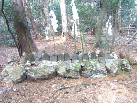 城ケ峰縦走-32-山の神