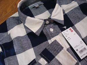 フランネルのシャツ