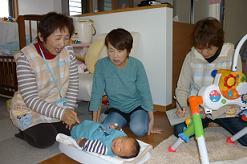 赤ちゃん訪問1