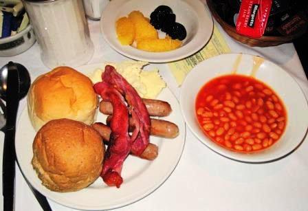 イギリスの朝ご飯