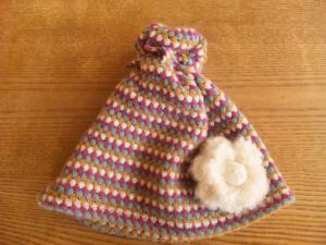 帽子ブローチ