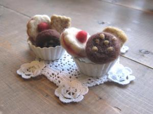 羊毛クッキー