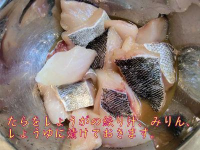 生のたら。北海道出身。