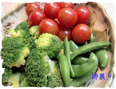好き勝手に食べる野菜