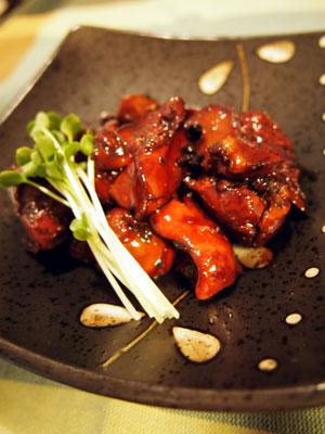鶏レバー山椒煮
