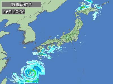 2012年台風15号