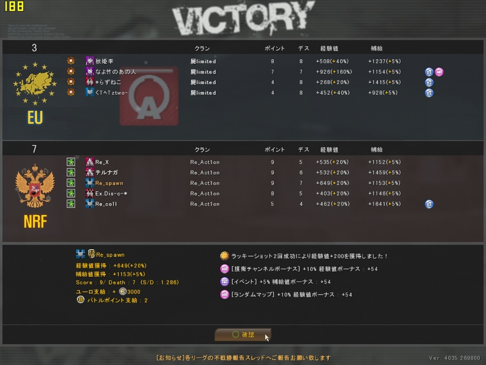 ODL2013Season1 Re_Act1on vs 屍limited