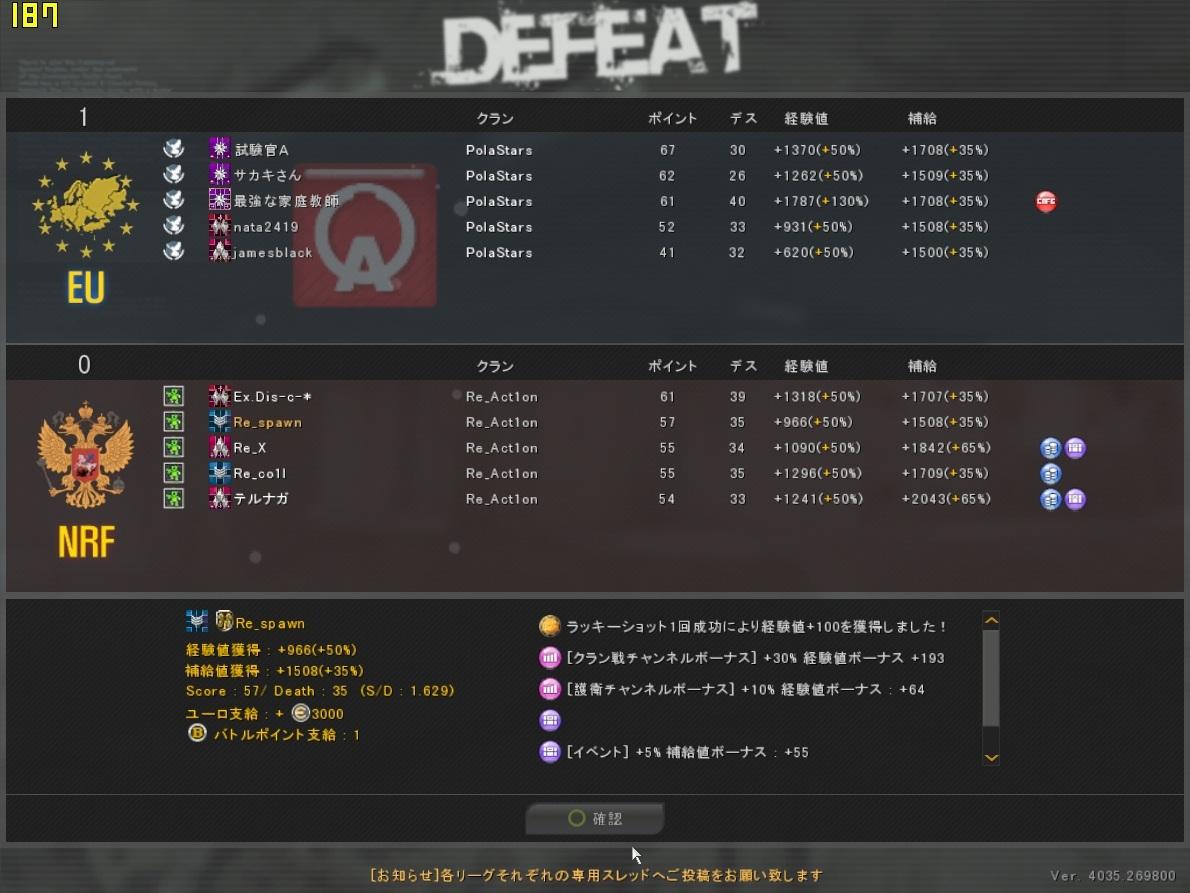 ODL2013Season1 Re_Act1on vs PolaStars