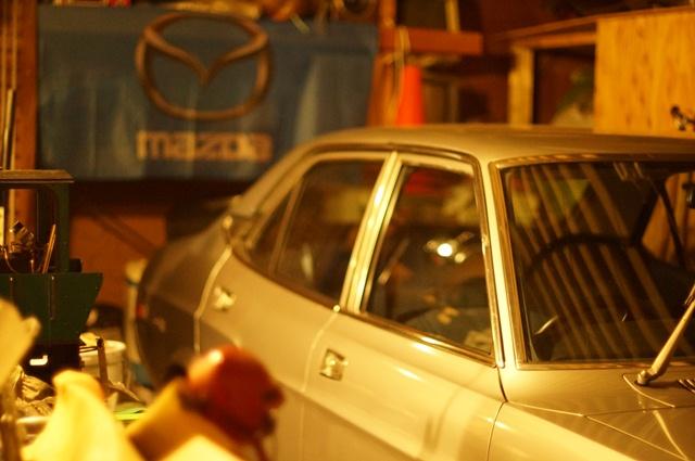 夜のルーチェをNIKKOR-S Auto F 1.4 50mmで