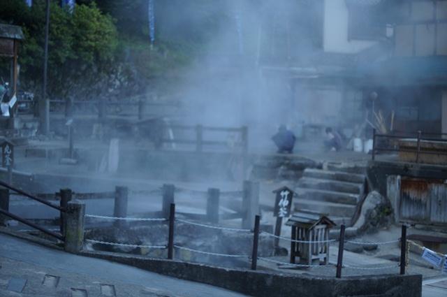 野沢温泉の湯畑