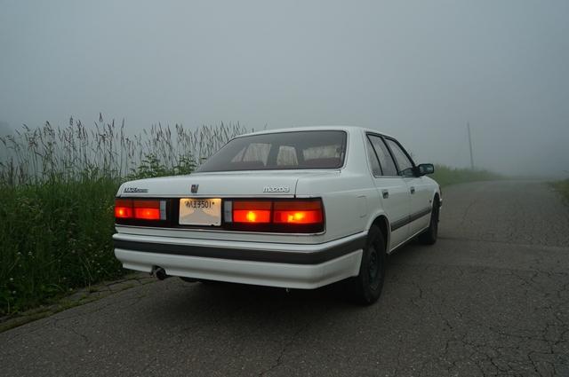 マツダルーチェと野辺山の霧
