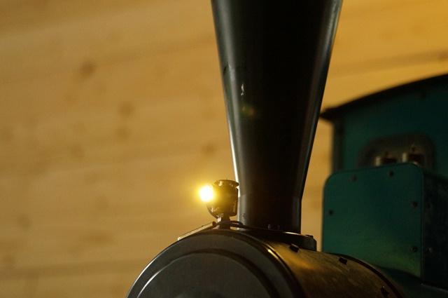自作カンテラ風LEDランプ、点灯