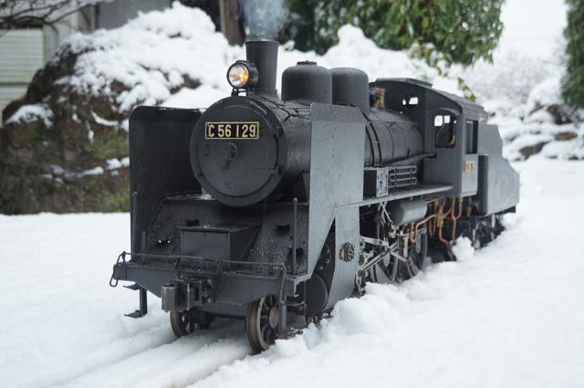 C56 129 蒸気機関車 ミニSL