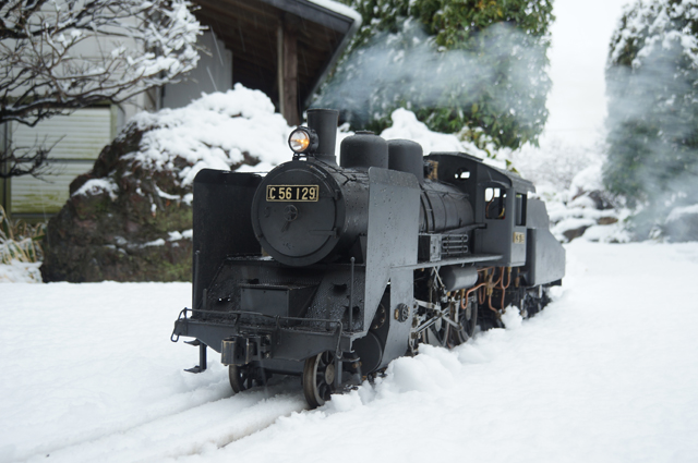 C56 129 SL LIVESTEAM 蒸気機関車 ライブスチーム