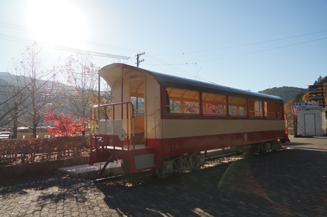 井川線の旧客車