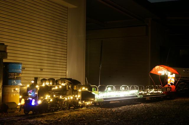 イルミネーショントレイン 電飾トレイン 2013 C56 129