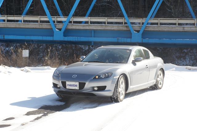 RX-8 雪上