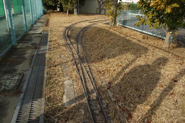豊田市の廃線になったミニSLのレイアウト