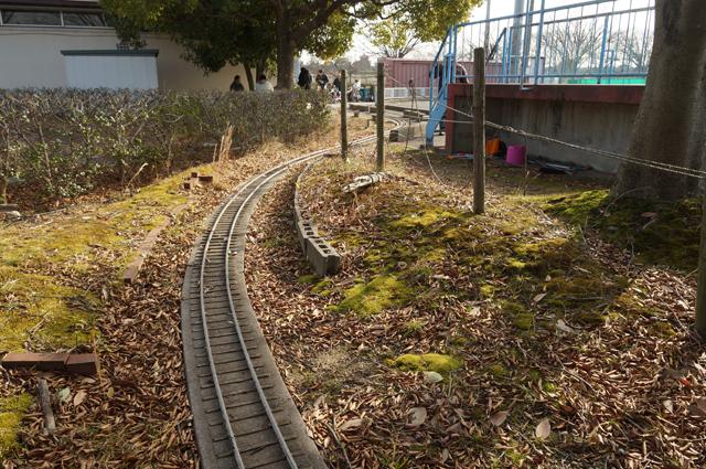 豊田の廃線になったミニSLのレイアウト この雰囲気良いなぁ